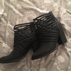 Heeled booties